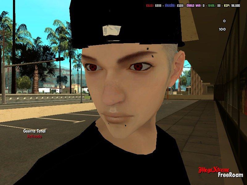 Gta San Andreas Swag Boy Nirvana Whit Sharingan Eyes Mod Gtainsidecom