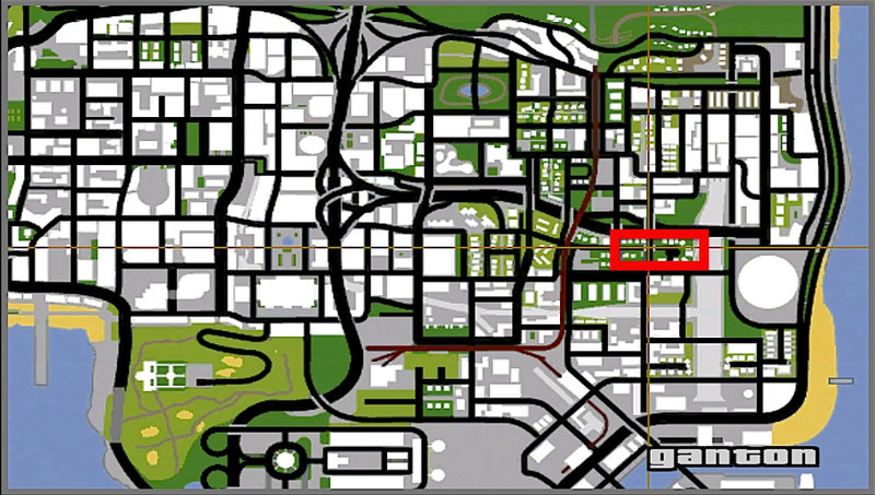 gta san andreas weapons locations map