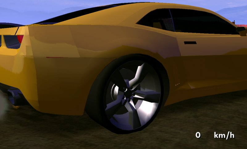 Gta San Andreas Chevrolet Camaro Bumblebee Only Dff For Mobile Mod