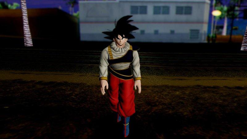 Gta San Andreas Dragon Ball Xenoverse Goku Yardrat Clothes Mod Gtainside Com