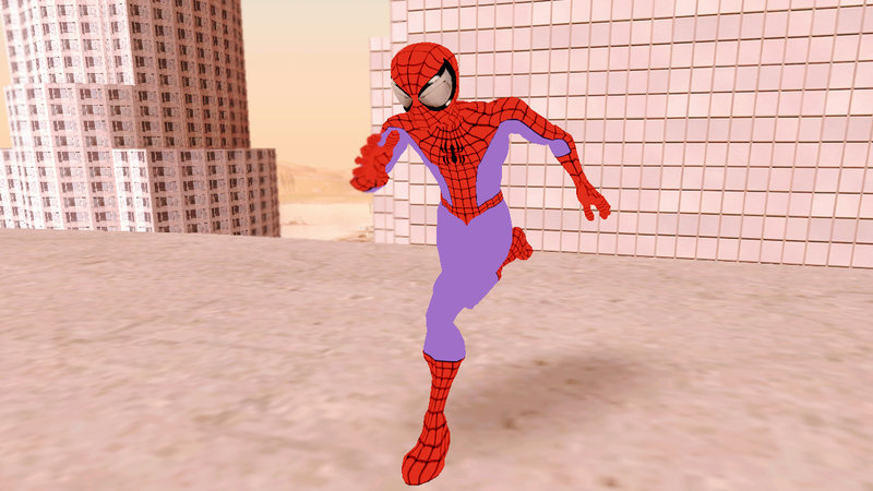 GTA San Andreas Ultimate Spider-Man - Spider-Man Mod - GTAinside com
