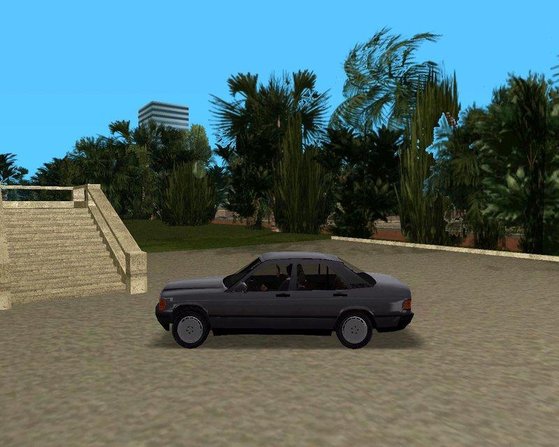 Gta 3 1984 mercedes benz 190e mod for 1984 mercedes benz 190e