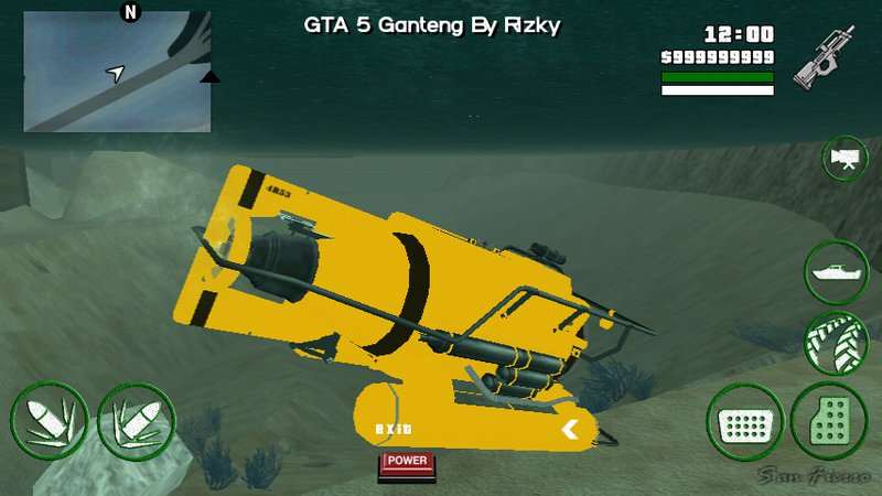submarine mod for gta sa