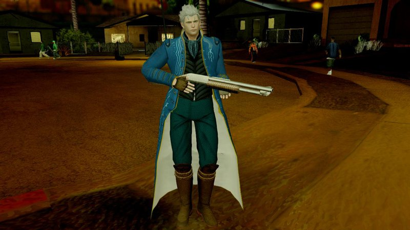 Cars 2 Characters >> GTA San Andreas Devil May Cry 4 Vergil Special Edition Mod - GTAinside.com