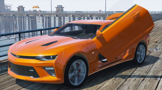 Chevrolet Camaro SS 2016 v2 [Add-On / Replace]