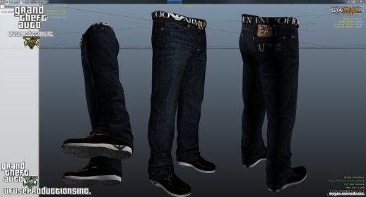 Armani Jeans/Shoes & Belt V1.8