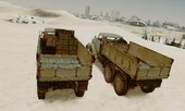 Metal Gear Solid V Phantom Pain Zi-GRA 6T Truck
