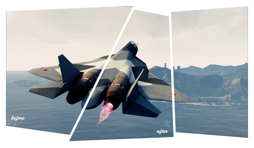 Afterburners for Add-On Planes 1.3