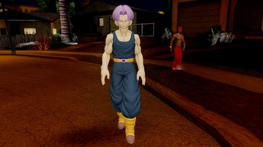 Dragon Ball Xenoverse Future Trunks Shirt