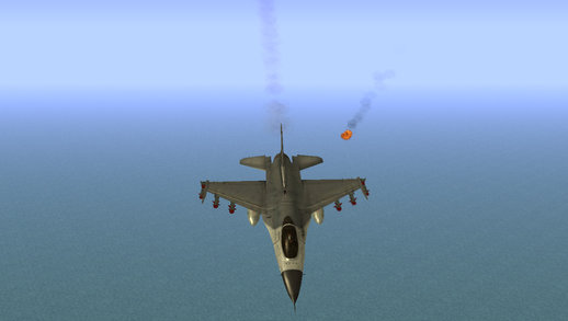 F-16 with Russian Missile
