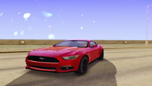 Real Handling Ford Mustang GT 2015