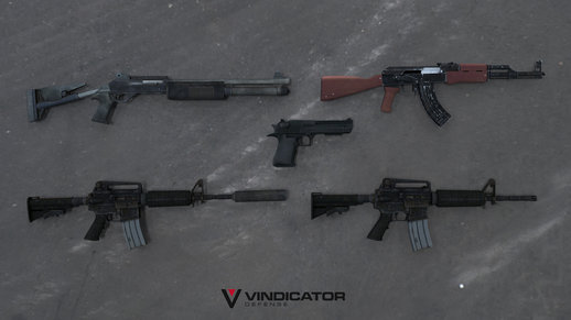 Assault weapons mini pack