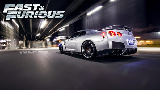 Fast And Furious Nissan GTR + Loud Real Sound Mod