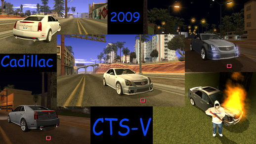 Cadillac CTS-V 2009 + no txd version for Android