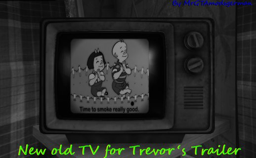 New old TV for Trevor's Trailer