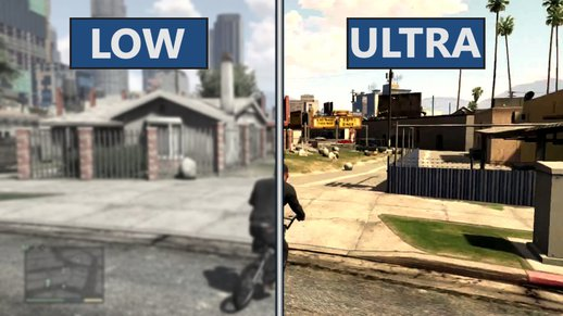 GTA V Low vs Ultra