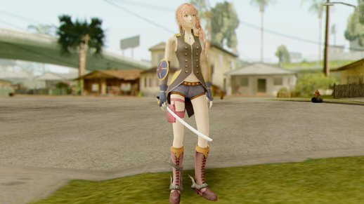 Final Fantasy XIII-2 Serah Style and Steel