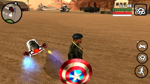 New Shield of Captain American for Android iOS