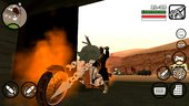 Ghost Rider Mods for GTA SA Mobile (iOS and Android)