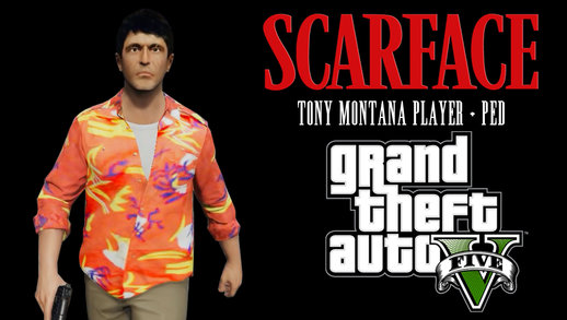 Tony Montana Player + Ped HD (Scarface)