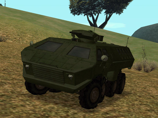 Lazar Serbian Armored Vehicle