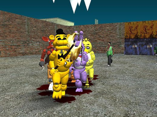 Five Night's At Freddy's Mod