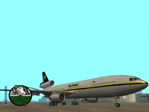 McDonnell-Douglas DC-10-30 Harimau Airlines (Fake-Real Livery)