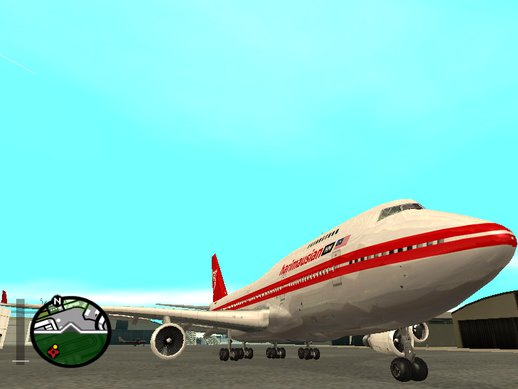 Boeing 747-200 Harimau Airlines (1970 Fake-Real Livery)