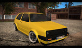 VW Golf Mk2 Lemon