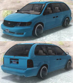 GTA V Vapid Minivan Custom