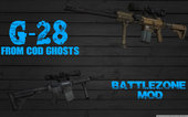 G-28 Custom from COD Ghosts