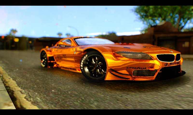 Gta San Andreas Bmw Z4 Liberty Walk Mod Gtainside Com