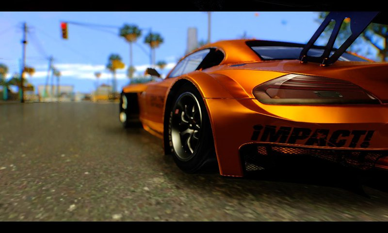 Gta San Andreas Bmw Z4 Liberty Walk Mod Gtainside Com
