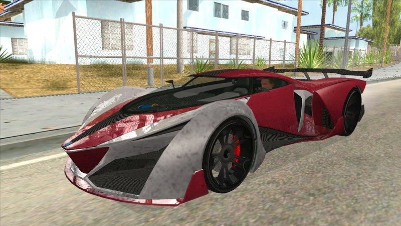 GTA San Andreas GTA V GROTTI X80 PROTO Mod , GTAinside.com