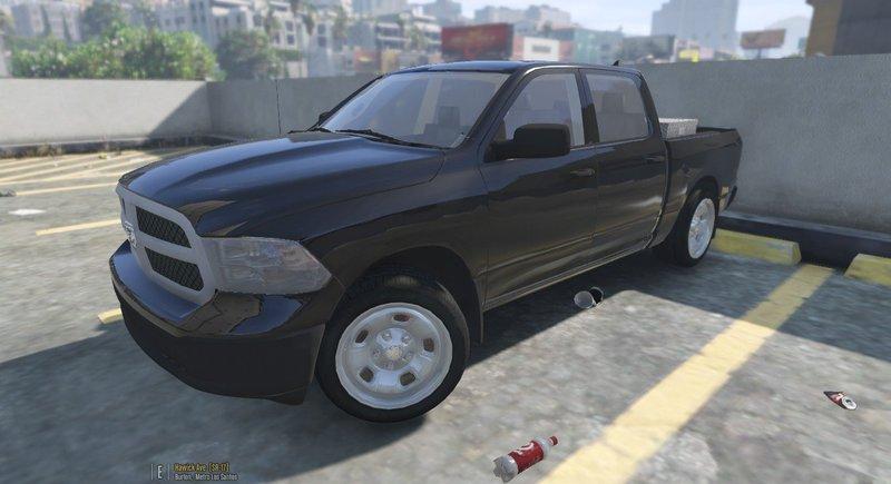 Gta 5 2014 Dodge Ram 1500 Mod Gtainside Com