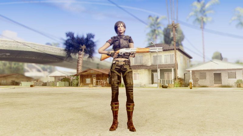 Ada Wong From RE2 Remake for GTA San Andreas
