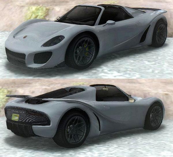GTA San Andreas GTA V Pfister 811 Mod - GTAinside.com