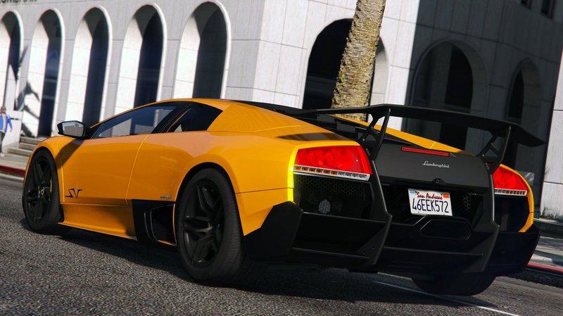 Gta 5 Lamborghini Murcielago Lp 670 4 Superveloce Add On Mod
