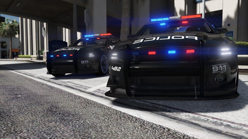 GTA 5 Ford Shelby GT500 | Hot Pursuit Police [Add-On