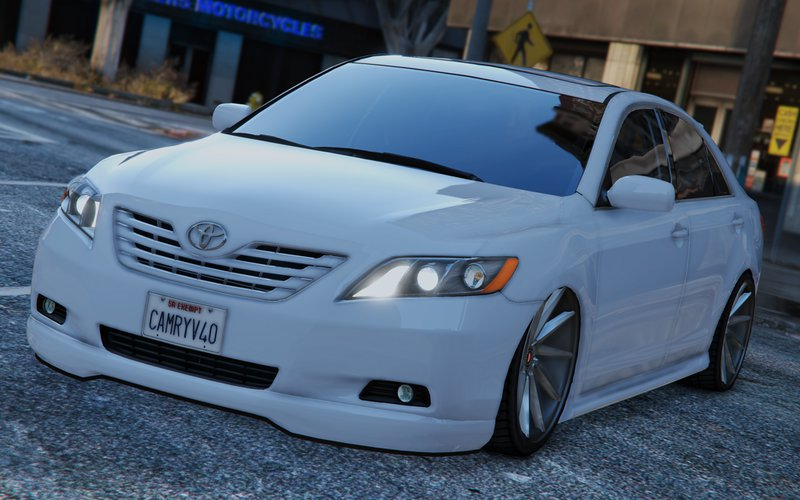 gta 5 toyota camry v40 2008 tunable add on replace. Black Bedroom Furniture Sets. Home Design Ideas