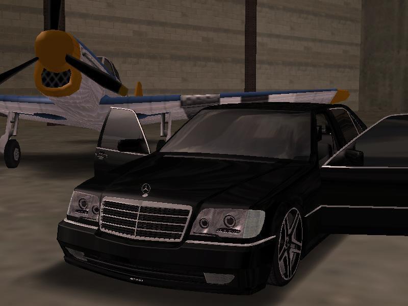 Gta San Andreas Mercedes Benz W140 S600 Amg Mod Gtainside Com