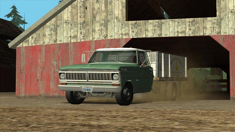 2016 Ford Trucks >> GTA San Andreas Ford F-350 Farm Truck 1970 Mod - GTAinside.com