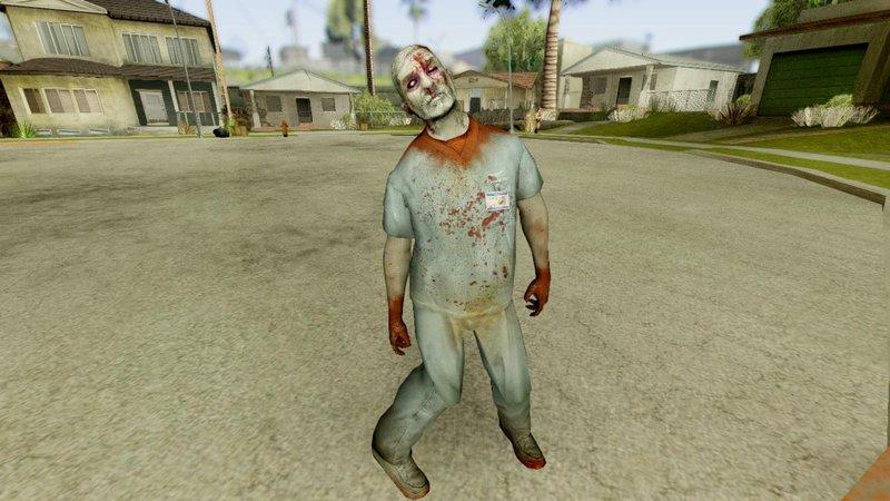 GTA San Andreas Left 4 Dead Zombie Pack Mod - GTAinside com