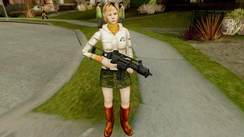 GTA San Andreas Silent Hill Downpour Heather Mod - GTAinside com