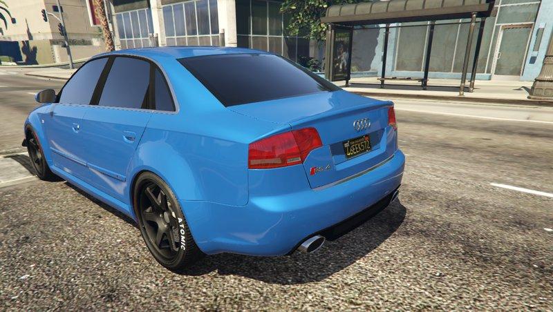 Gta 5 2006 Audi Rs4 Mod Gtainside