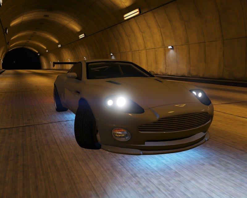 GTA Aston Martin V Vanquish AddOn Replace Tuning Mod - 2001 aston martin vanquish