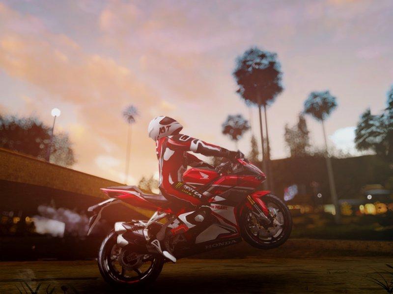 GTA San Andreas Honda CBR250RR Mod - GTAinside com