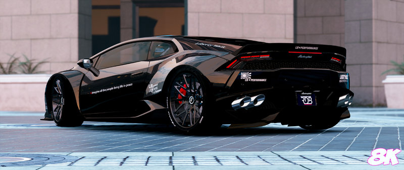 gta 5 lamborghini huracan lp 610 liberty walk paintjobs 8k mod. Black Bedroom Furniture Sets. Home Design Ideas