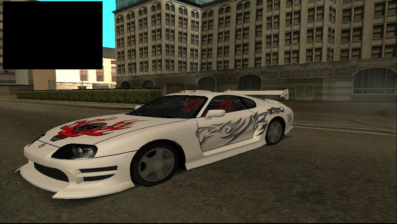 GTA San Andreas Need For Speed:Most Wanted Toyota Supra