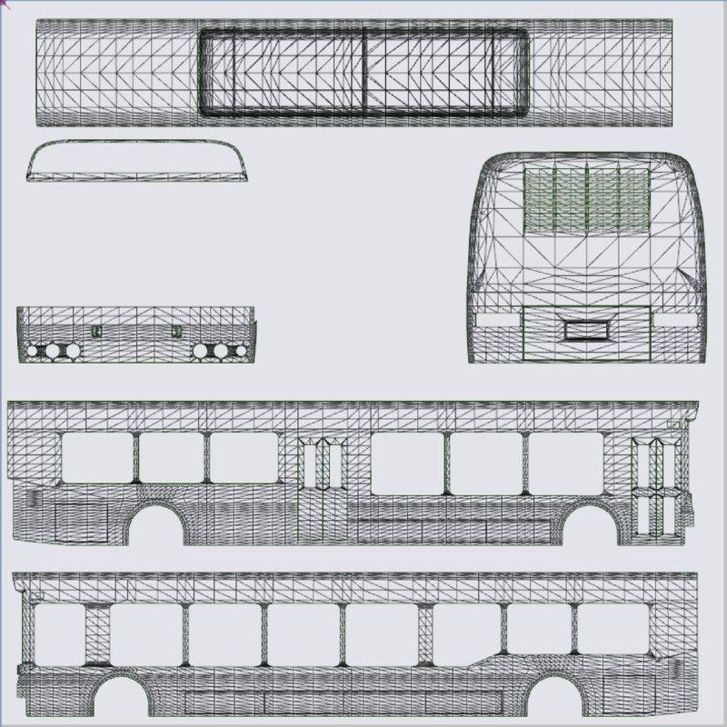 GTA 5 Airport Bus Template Pack Mod